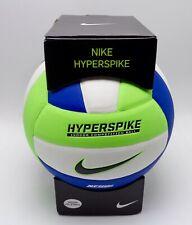 Nike HyperSpike Volleyball Size 5 Elektrisch Green/White/Gamma Blue