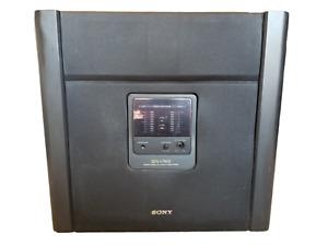 Rare! VTG Sony SEN-V7400 Hi Fidelity Stereo Center Speaker & Subwoofer System