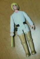 Vintage 1977 Star Wars Luke Skywalker Farmboy 3 Line Letter Hilt Saber NM c/9