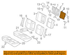 TOYOTA OEM 10-15 Prius Rear Seat-Seat Back Frame Left 7101847060