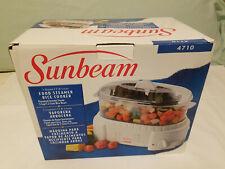 Sunbeam food steamer new in box.