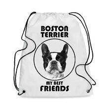 Borsa Sacca cane BOSTON TERRIER MY BEST FRIEND
