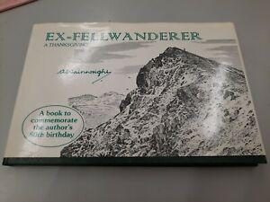 EX-FELLWANDERER A Wainwright Lake district BOOK commemorate 80th birthday FREEPP