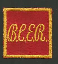 "BRITISH COLUMBIA ELECTRIC RAILWAY   RAILROAD PATCH 2"" *"