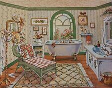 Cottage or Victorian Bath Print