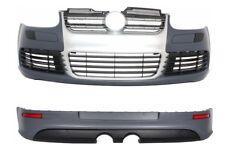 Pare-chocs arrière/avant Aluminium Brossé Sport VW Golf 5 R32 Look 03-07 Bumper