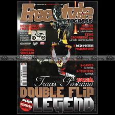 FREESTYLE MOTOCROSS N°21 CROWN BIKE CAMERON SINCLAIR TRAVIS PASTRANA FMX 2006