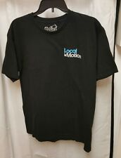 Local Motion Hawaii  Black T Shirt Size Large