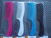 PEIGNE tous types cheveux  couleurs Beauty care 20 CM soins coiffure brosse