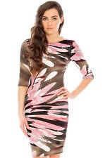 Goddess Ladies Designer Wedding Dress - Tulip Print - Size 8