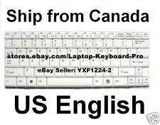 MSI  Wind U100 U110 U120 U90 U115 U120H U123 U123H U123T Keyboard - US - White