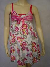 NEW SCANTY FLORAL w/ PLAID SWEETHEART CHEMISE S