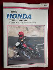 1983 - 1988 VT500 Ascot VT 500 Clymer Service Repair Manual for Honda cly201