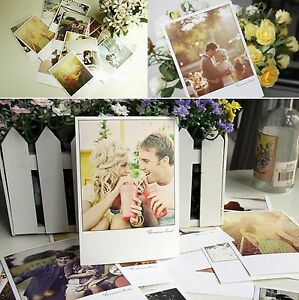 32 New x Love Postcard Photo Prints Post Card Put in Photo Frame for Home Decor