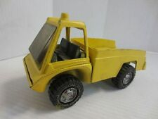 Vintage 1975 Gabriel Yellow pressed steel commercial truck