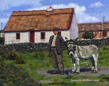 COLOR PRINT OF OIL PAINTING, IRELAND SERIES #176