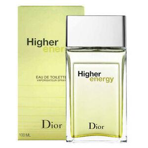 HIGHER ENERGY * Dior 3.4 oz / 100 ml Eau de Toilette (EDT) Men Cologne Spray