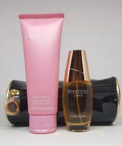 ESTEE LAUDER BEAUTIFUL LOVE 30ml EDP Spray + 100ml Body Lotion Genuine Perfume