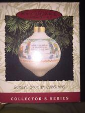 Hallmark Keepsake Collector Series Betsey's Country Christmas Ornament Box 1993