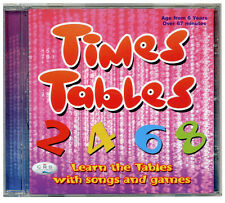 Times Tables CD  Songs, games & Times Tables booklet. CD *NEW & WRAPPED*