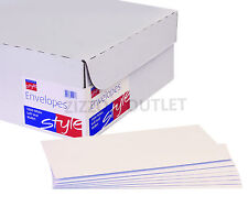 5000 X WHITE DL ENVELOPES - PLAIN - SELF SEAL - VAT INC. - BARGAIN + FREE P&P!