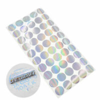 200 Pcs Round Hologram Label Laser Void Sticker Security Seal Supplies 25MM US