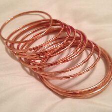 Weekly  Stile  Copper bracelet  hammer finish / Semanario martillado de cobre