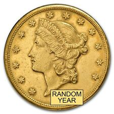 SPECIAL PRICE! $20 Liberty Gold Double Eagle Coin (Cleaned) - Random Year