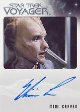 Star Trek Voyager Heroes & Villains Mimi Craven Autograph Card