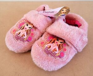Bratz Doll Kids/Girls Slippers Size 11-12 New With Tags
