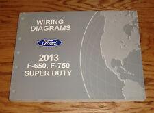 Original 2013 Ford F-650 F-750 Super Duty Wiring Diagrams Manual 13