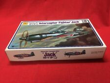 NOS Otaki Japanese Navy Fighter Jack Model Plane Kit OT2-9 Sealed Parts Bags