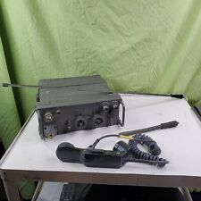 PRC77 MILITARY RADIO RECEIVER TRASCEIVER RADIOSTATION WITH BACKPACK