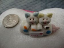 Collectibles Cats Handmade Miniatures Kitties Animals Figurines