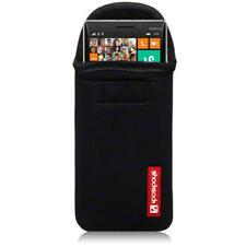 Étuis, housses et coques noirs en néoprène pour téléphone mobile et assistant personnel (PDA) Nokia