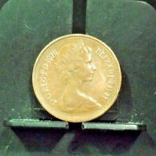 CIRCULATED 1976 ONE NEW PENNY UK COIN (112317)1,,,,,FREE SHIPPING!!!!!