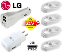 Original LG Fast Charging Wall Charger OEM Type C Cable For LG G6 G7 Stylo 4 V20