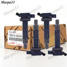 4x Ignition Coils for Toyota Camry Avensis RAV4 Tarago 1AZ-FE 2AZ-FE 2.0L 2.4L