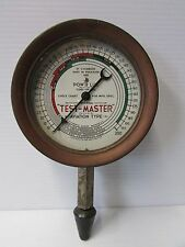 Vintage TEST-MASTER Aviation Type Compression Tester - Industrial Steampunk