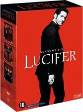 ***  LUCIFER - L'Intégrale SAISON 123 *** COFFRET DVD  SOUS CELLO V FRANCAIS