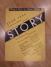 Story Devoted Solely to the Short Story July 1936
