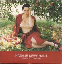 Natalie Merchant: Songs To Color By PROMO w/ Artwork MUSIC AUDIO CD PRCD 1825