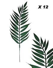 "15"" Cycas Palm (Bundle of 12) Plastic Pick Memorial Home Decor Craft Silk Flower"
