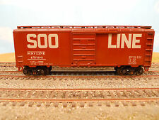 HO SCALE KAR-LINE SOO LINE 45396 40' BOX CAR