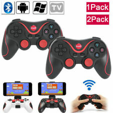 2 PACKS Wireless Bluetooth Remote Game Controller Gamepad for PC Android Phone