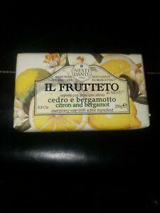 Nesti Dante IL Frutteto Citron and Bergmot Moisturazing Soap 8.8oz