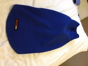 Hotterdog Fleece Jumper By Equafleece Size Medium Blue