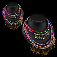 New Weave Multilayer Fashion Ethnic Rope Vintage Style Necklace Bohemian Style