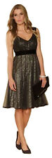 MONSOON Amelie Sequin Fit and Flare Prom Dress Size UK 16 BNWT
