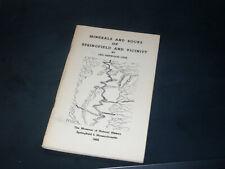 Minerals & Rocks of Springfield & vicinity/Otis